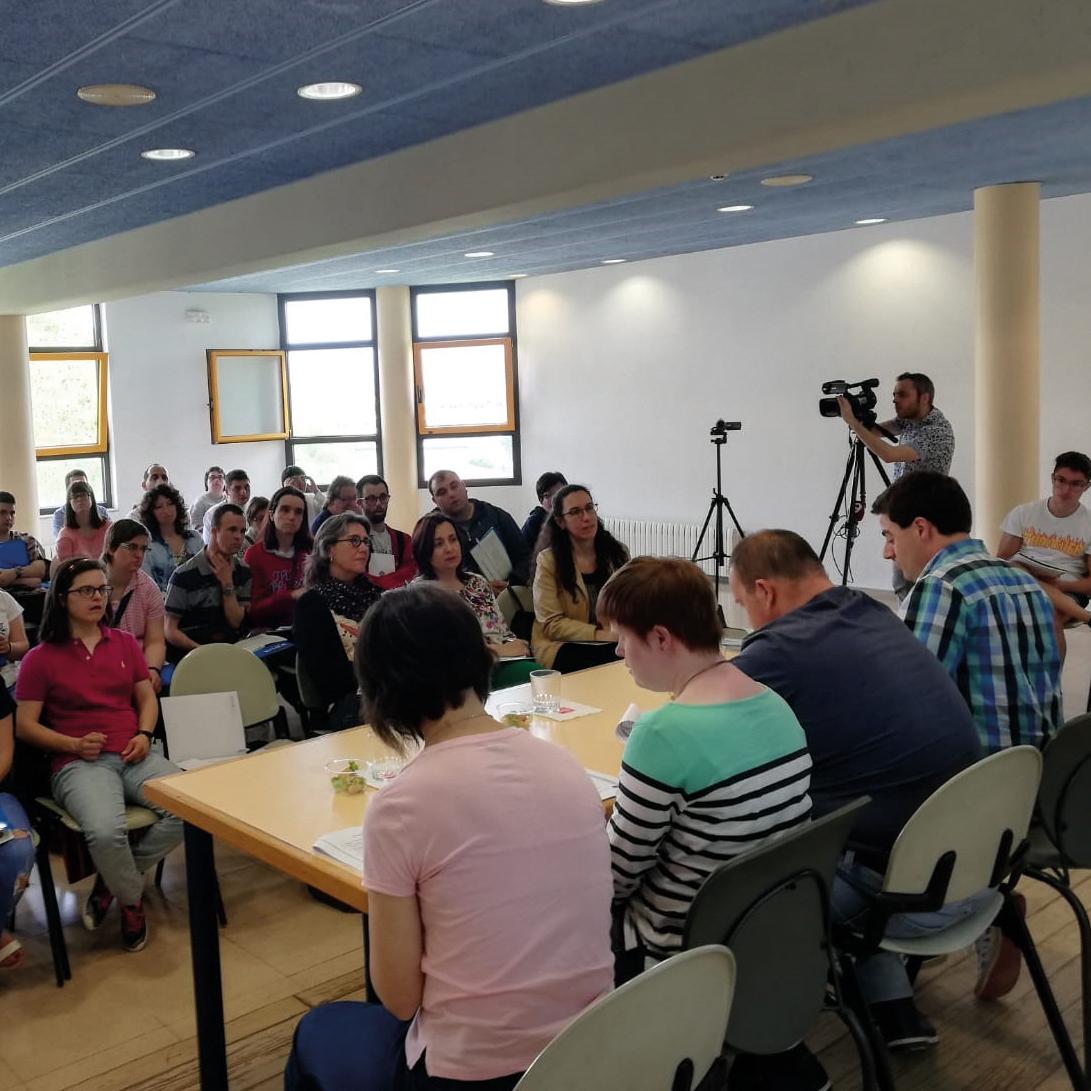 Vida adulta i lleure: Trobada Grups Autogestors a Vic organitzada per Down Catalunya
