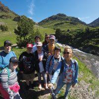 Sortida i excursió d'Astrid-21. Muntanya, riu, activitats.