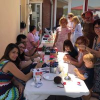 Celebracio Festa d'Estiu d'Astrid21. Activitats, festa i manualitats.