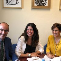 Signatura Conveni colaboració Carrefour