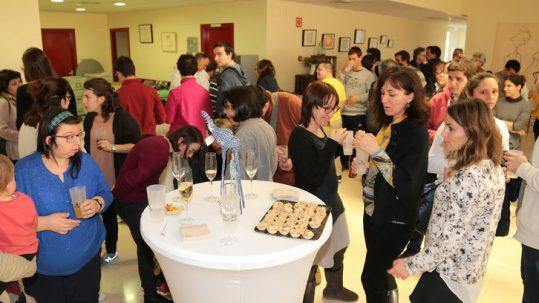 Girona. Primer acte dels 30 anys de la Fundació Astrid-21, al carrer Riera de Mus, 1.