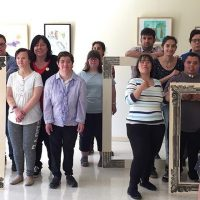 Treballs Exposats a l'espai Caixa Forum pel temps de Flors