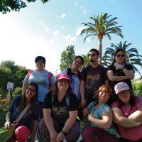 Viatge d'estiu a Cambrils de la fundació de persones amb síndrome de Down i /o discapacitat intel·lectual Astrid-21